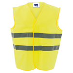 8025 - CHALECO REFLECTANTE KROSS AMARILLO